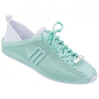 LOVE SYSTEM NOW green flat sneaker sneakers for woman