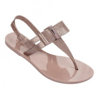 GLAZE pink flat finger sandals for woman