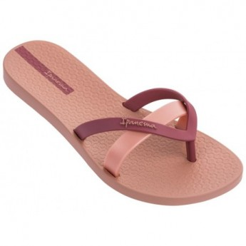 KIREI pink flat finger flip flops for woman