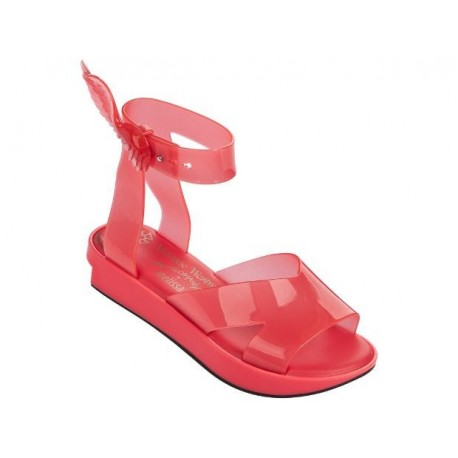 ROCKING HORSE vivienne westwood orange under open sandals for woman