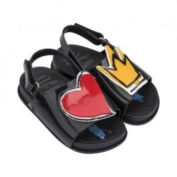 VIVIENNE WESTWOOD ANGLOMANIA + MINI BEACH vivienne westwood flat open sandals for baby