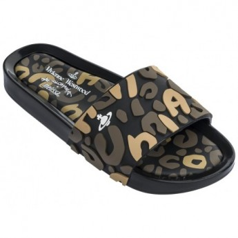 BEACH SLIDE III vivienne westwood fantasy print flat shovel sandals for woman