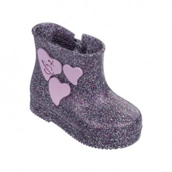 BOOT multicolored fantasy print flat closed boots for baby