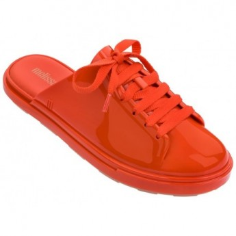 BE BABOUCHE red flat open sandals for woman