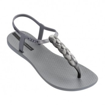 CHARM VI grey flat finger sandals for woman