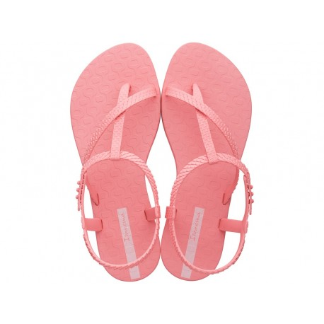 CLASS WISH cristina pedroche pink flat finger sandals for woman