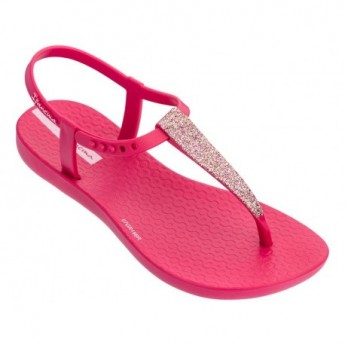 CHARM SAND II pink flat open sandals for girl