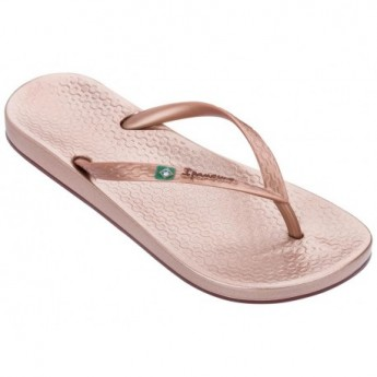 ANAT BRILLIANT III pink flat finger flip flops for woman