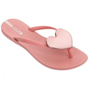MAXI FASHION II pink flat finger flip flops for woman
