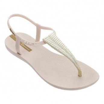 CLASS GLAM III cristina pedroche beige flat finger sandals for woman