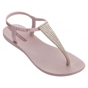 CLASS GLAM III cristina pedroche pink flat finger sandals for woman