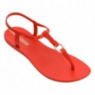 CHARM VII cristina pedroche red flat finger sandals for woman