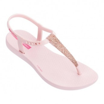 CHARM SAND II pink flat finger sandals for woman