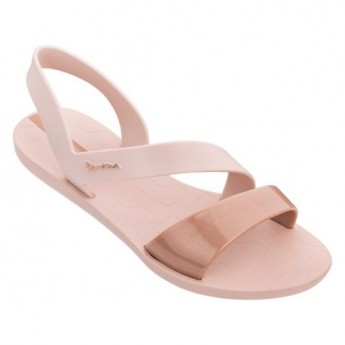 VIBE cristina pedroche pink flat roman sandals for woman