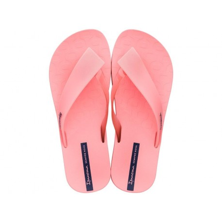 HIT pink flat finger flip flops for woman