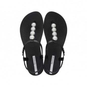 CLASS GLAM II cristina pedroche black flat finger sandals for woman