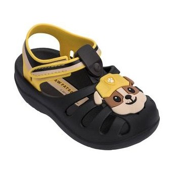 PATRULHA CANINA FRIENDS brown and yellow flat crab sandals for baby