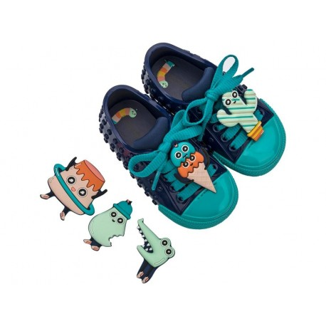 POLIBOLHA + TURMA DO PUDIM blue flat sneaker sneakers for baby