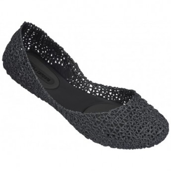 CAMPANA PAPEL VII hermanos campana black flat ballet flats for woman