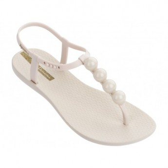 CLASS GLAM II white flat finger sandals for woman