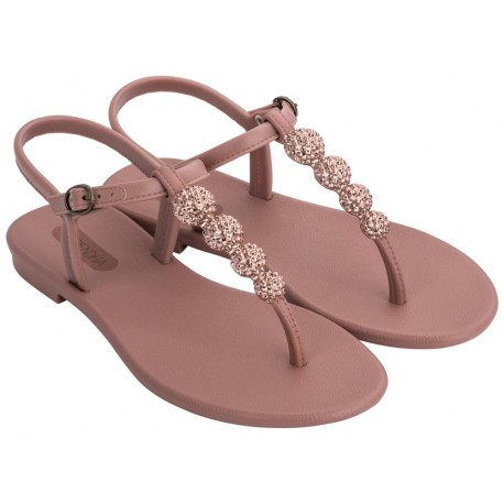 CACAU pink flat finger sandals for woman