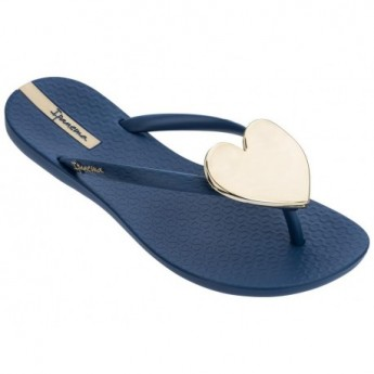 MAXI FASHION II cristina pedroche blue flat finger flip flops for woman