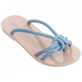 SAUDADE beige flat finger sandals for woman