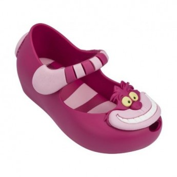 ULTRAGIRL+ALICE IN WONDERLAND II disney pink flat closed ballet flats for baby