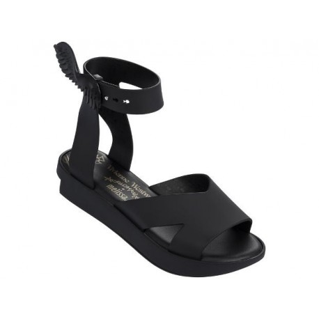 ROCKING HORSE vivienne westwood black under open sandals for woman