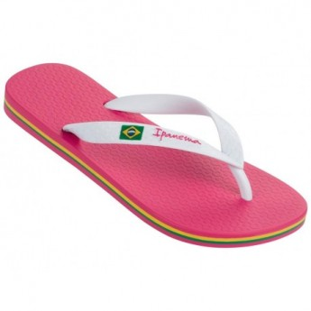 CLAS BRASIL II pink flat finger flip flops for woman