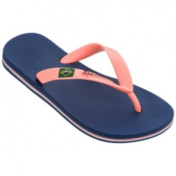 CLAS BRASIL II blue flat finger flip flops for girl