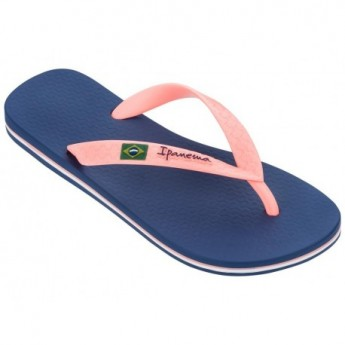 CLAS BRASIL II blue flat finger flip flops for woman