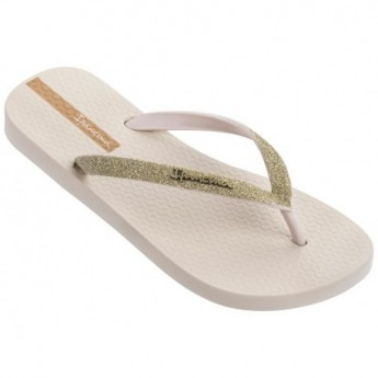 LOLITA III beige flat finger sandals for woman