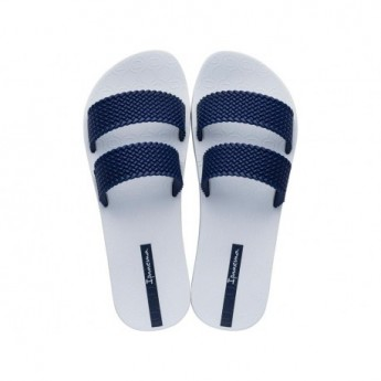CITY white flat shovel sandals for woman
