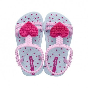 MY FIRST IPANEMA BABY blue flat roman sandals for baby