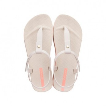 BOSSA SOFT beige flat finger sandals for woman