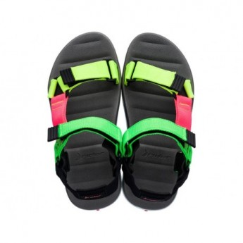 MKT RX MASC black flat roman sandals for man