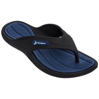 CAPE XIII black flat finger sandals for man