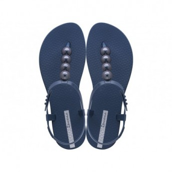 CLASS GLAM II blue flat finger sandals for woman