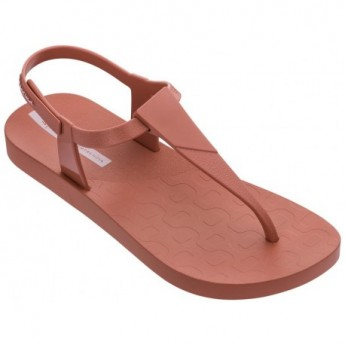 SENSATION pink flat finger sandals for woman
