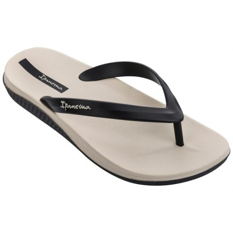 ANATOMIC LAPA beige flat finger flip flops for man