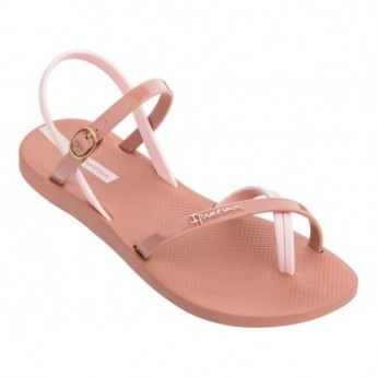 FASHION SAND VII pink flat finger sandals for woman