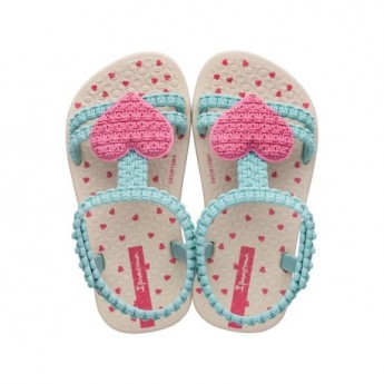 MY FIRST IPANEMA BABY beige flat roman sandals for baby