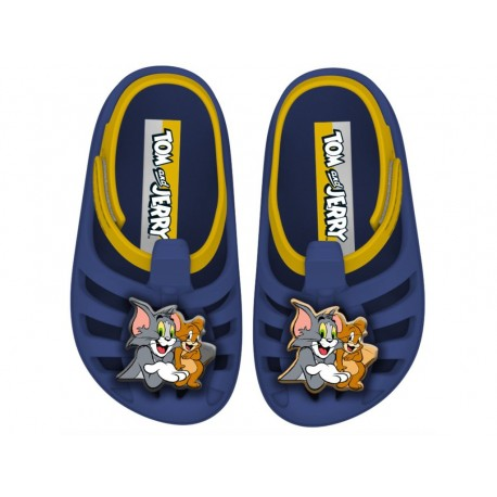 TOM E JERRY flat crab clogs for baby