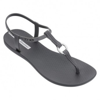 CHARM VII grey flat finger sandals for woman