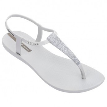 CLASS POP grey flat finger sandals for woman