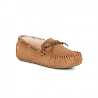 AMITY flat closed slippers for woman