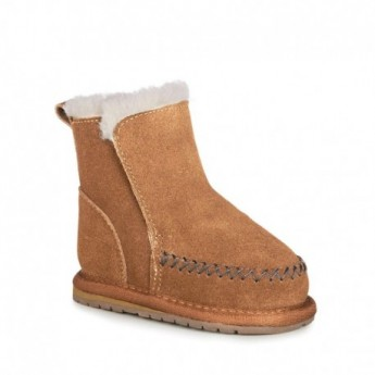 KLEIN brown closed boots for baby