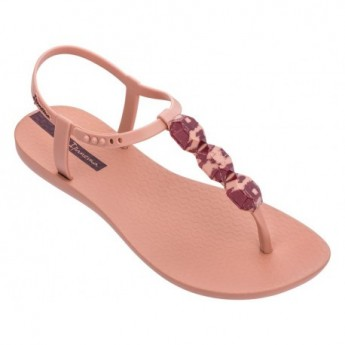 CHARM VII pink flat finger flip flops for woman