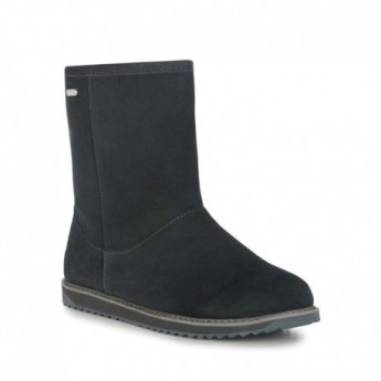 PATERSON CLASSIC LO grey flat closed boots for woman